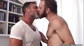 Hairy Mormon Gays Fuck Each Other