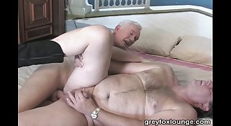 daddy fucks gardener
