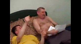 STEPDADDY FUCKING STEPSON AGAIN