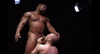 Remy Delaine Fucked by Muscled-Up Black Man