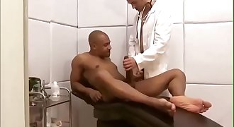 Black guy fucks doctor